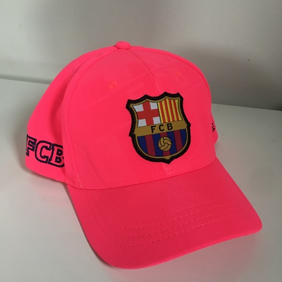 b03ec481476 FCB Accessories - FC Barcelona Hit Pink Hat NEVER WORN